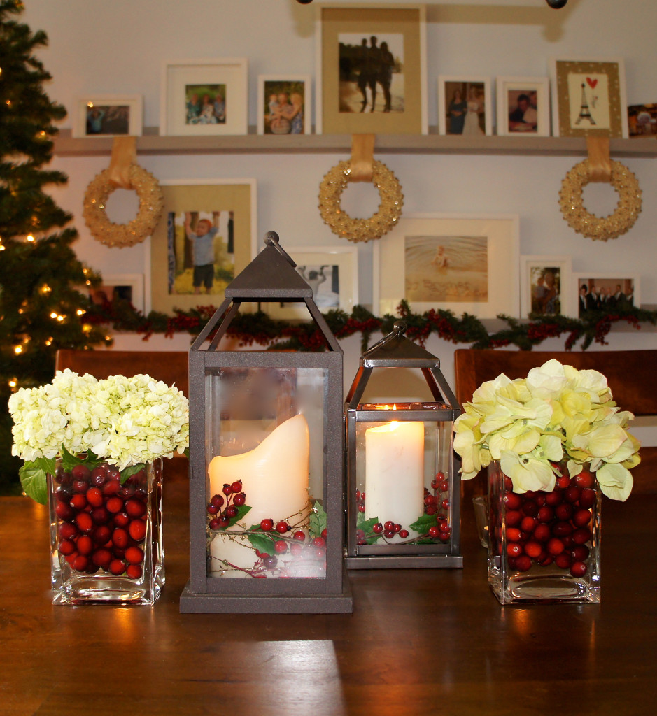 Holiday centerpieces ocean front shack